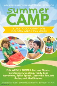 Aga-Khan-Early-Learning-Centre-AKELC-summer-camp-for-children-2018-uaenurseries