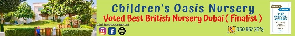 Childrens Oasis Nursery | British nursery in Umm Suqeim 2, Dubai - uaenurseries.ae